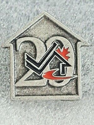 20th Anniversary of Military Family Services Program (MFSP) Lapel Hat Pin Pewter