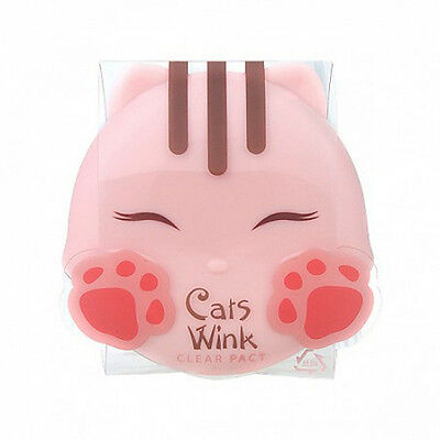 Tonymoly - Cats Wink Clear Pact 11g 2 Color (#1 Clear Skin)