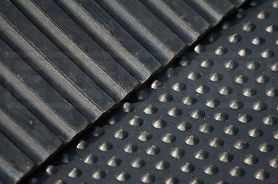 Cobbled Natural Rubber Stable Horse Equestrian Mats 6ft x 4ft x 12mm