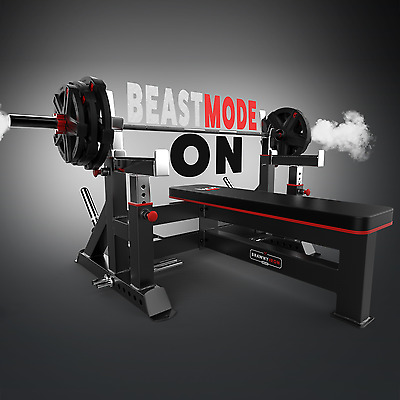 Commercial Weight Bench & Bar Rack & Weight Plate Rack Chest Press Bench Weights