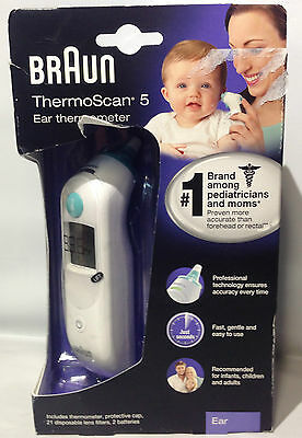Braun Thermoscan 5 Ear Thermoscan IRT 6020