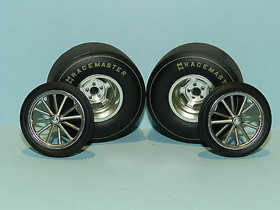 Acme/GMP 1/18 Dragster Wheel And Tyre Set Great for diorama or rebuilds