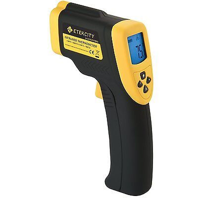Etekcity Lasergrip 800 Non-contact Digital Laser IR Infrared Thermometer NEW