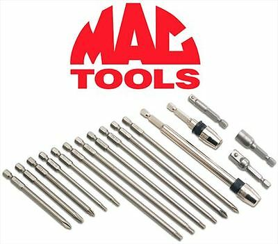 Brand New Mac 16 Pc Tools Quick-Change Automotive Bit Set