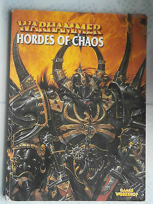 hordes of chaos warhammer fantasy army armies book citadel games workshop