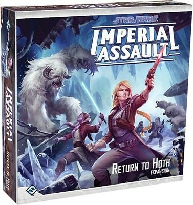 Star Wars: Imperial Assault - Return to Hoth | Fantasy Flight Games - New Game
