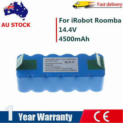 4.5Ah Battery Fr iRobot Roomba 500 HeavyDuty 510 535 550 560 570 600 630 780 880