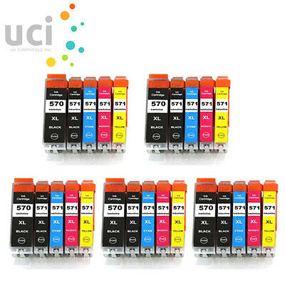 25 Ink Cartridge Replace For Canon Pixma MG5750 MG5751 MG5752 MG5753 MG6850