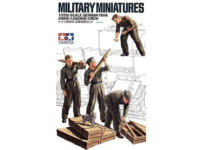 Tamiya 35188 1/35 Scale Military Figure Model Kit German Tank Ammo-Loading Crew