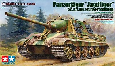Tamiya 35295 1/35 Scale Model Kit German Tank Destroyer Panzerjager Jagdtiger