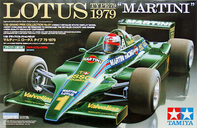 Tamiya 20061 1/20 F1 Car Model Kit Martini Racing Team Lotus Type 79 C.Reutemann