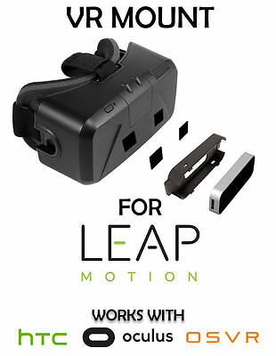VR Mount for LEAP MOTION Oculus DK1, DK2, CV1 HTC VIVE OSVR Support Holder