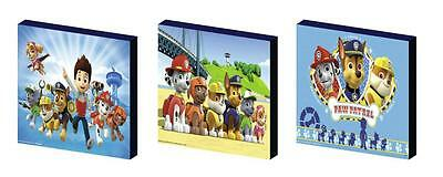 PAW PATROL c CANVAS WALL ART PLAQUES/PICTURES