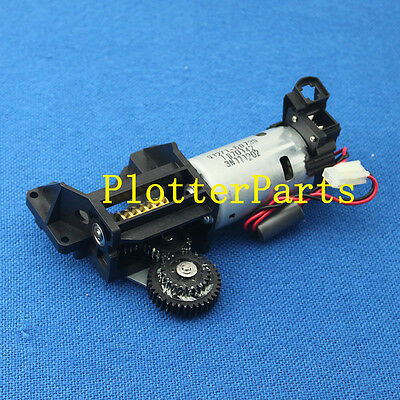 Q1271-60613 Q1271-60730 Media feed motor for HP DesignJet 4500 4500PS Used