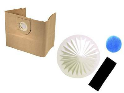 5 Dust Bags & Filter for VAX 6100 6121 6130 6131 6140 6150 6151 Vacuum Cleaners