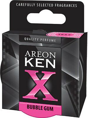 Areon KEN X VERSION BUBBLE GUM Can Style Air freshener for your car KXV03