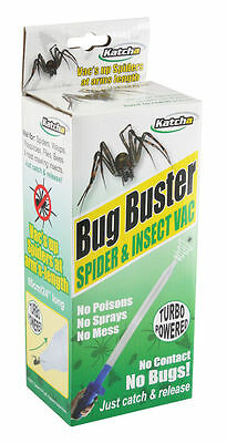 Spider, insect Catcher, humane spider vac with Varta battery not killer