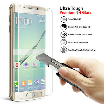 For Samsung Galaxy S7 100% Genuine Real Tempered Glass Screen Protector Film