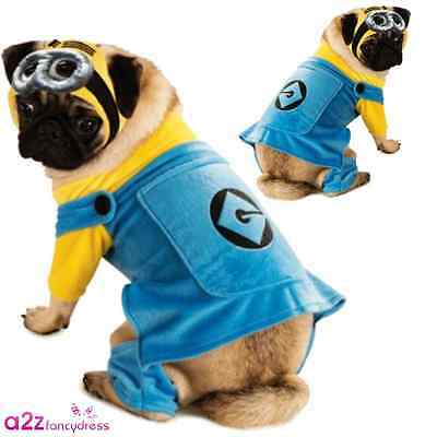 Minion Dog Despicable Me Minions Pet Novelty Halloween Funny Film Costume