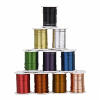 10 Rolls of Copper Wire Beading Thread Cord for DIY Jewellery Making AD