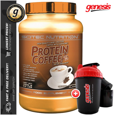 Scitec Nutrition PROTEIN COFFEE *1KG EXP 03/17* Sugar Free WPC + FREE Shaker!
