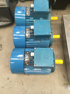 Western Electric 1.1Kw 3 Phase Electric Motor 691RPM 415v 3.22A Made In OZ