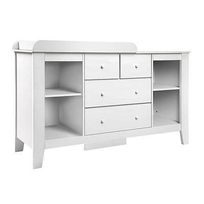 Baby Nursery Furniture Change Table Dresser Chest of Storage Drawers Cabinet