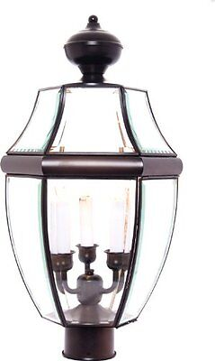 "6098 South Park Outdoor Pole/Post Mount Lantern, Burnished Finish, 12 by 23.5-"" • CAD $224.28"