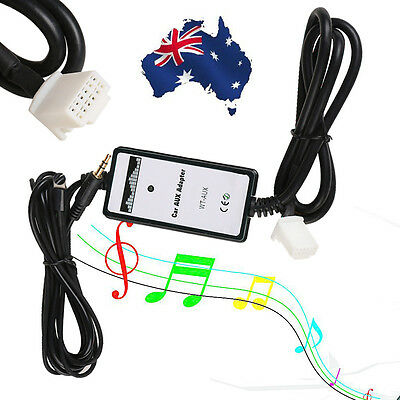 AUX Adaptor Audio MP3 Interface Phone Charging Adapter For Toyota Corolla Camry