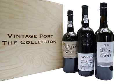 The Classic Collection Vintage 2008 Single Quinta Port Trio Pack