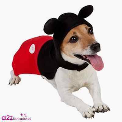 Mickey Mouse Dog Puppy Pet Official Disney Christmas Halloween Novelty Costume