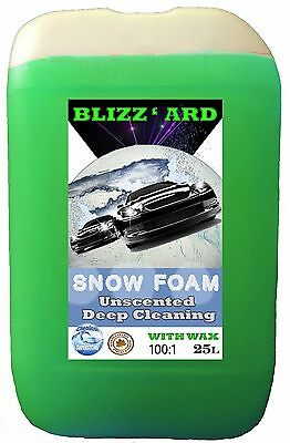 SNOW FOAM WASH AND WAX 25L LITRE Unscented