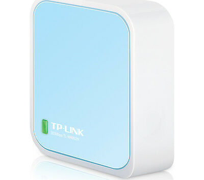 TP-LINK TL-WR802N Portable Travel Router Small enough to take everywhere NEW