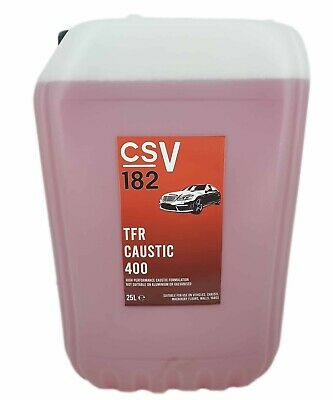 400:1 King Red TFR HGV Chassis Cleaner 25Litre  Heavy duty Traffic Film Remover