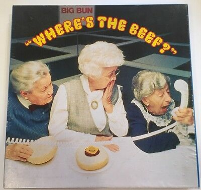 Vintage Where's The Beef Wendy's Commercial Jigsaw Puzzle Old Ladies