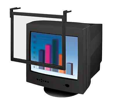 """Fellowes 93781 19/21"""" LCD Privacy Filter Desktop Glare Filter Computer Screen"""