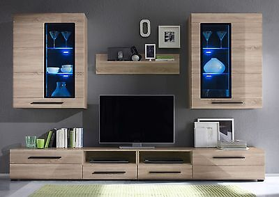Living Room Wood  Furniture Display Unit Wall Unit Modern TV Unit Cabinet TIMBER