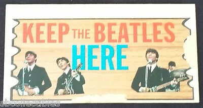 1964 - Topps - Beatles Plaks - Trading Card - #15