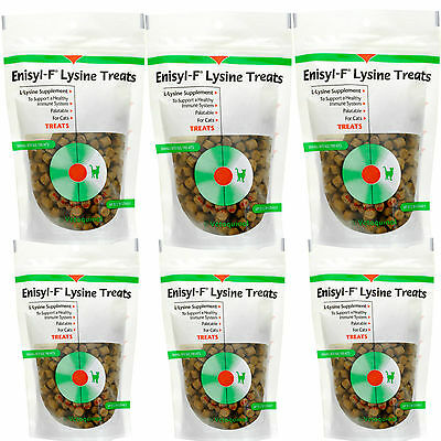 Enisyl-F Lysine Treats For Cats (Immune System Support) - 6.35 ounce (6 Pack)