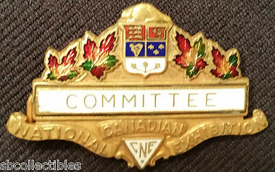 Vintage - Cne - Canadian National Exhibition - Committee - Badge