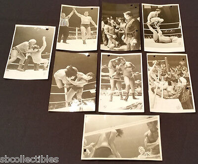 1970's - The Rougeau Family - Wrestling - Lanza Studio - Action Photos - (8)