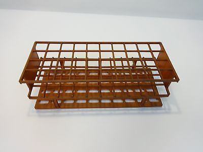"""40-place Tube Rack Labware For up to up to 15mm Width tubes 10x4"""", Lot 6 Racks"""
