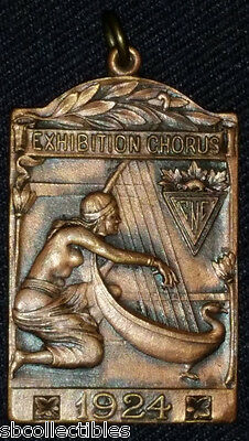 1924 - Canadian National Exhibition - Cne - Chorus - Ryrie Birks - Medal