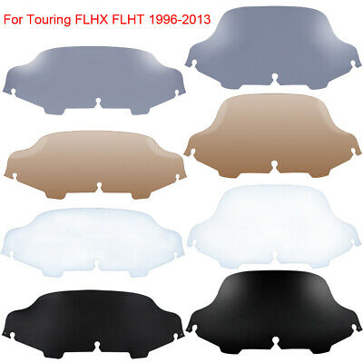 Smoke Wave Windshield Windscreen for Harley FLH FLHT FLHTC FLHX Touring 96-2013