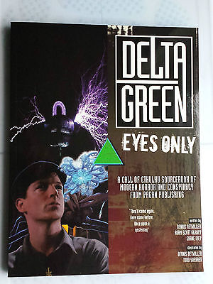 eyes only delta green pagan publish Call of cthulhu CoC horror RPG lovecraft