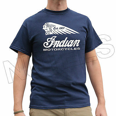 Indian Motorcycles Biker Motorbike Funny Men's Ladies Kid T-Shirt Vest S-XXL