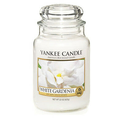Yankee Candle White Gardenia Large Jar Scented Candle
