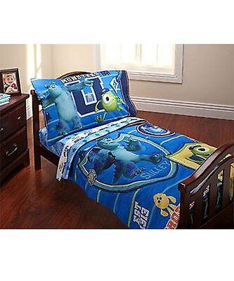 "Monsters University ""University Training"" 4-Piece Toddler Bedding Set"