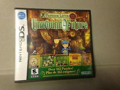 Professor Layton and the Unwound Future  (Nintendo DS, 2010)  NEW!!!  Sealed!