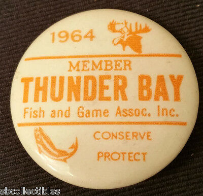 1964 - Thunder Bay - Fish And Game Association Inc - Member